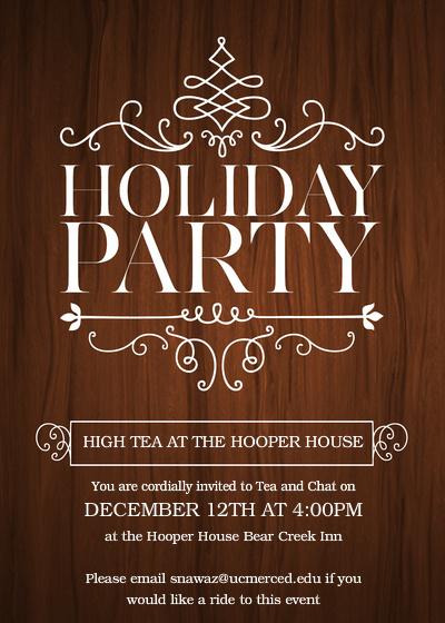 December 2013 Invitation