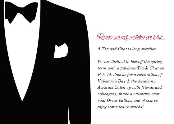 February 2013 Invitation